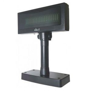 POS - VISOR DE CLIENTE VFD BIRCH PRETO 2X20 USB/RS232 - DSP-800V