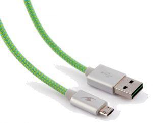 BLUESTORK - TRENDY-MU-F 1.2M USB A MICRO-USB B VERDE Cabo USB
