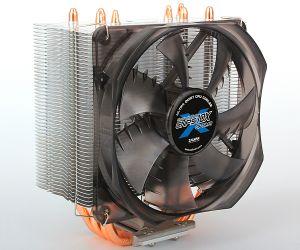 ZALMAN - VENTOINHA CPU COBRE E LAMINAS DE ALUMINIO 120MM PWM 17-28DBA (CNPS10X OPTIMA)