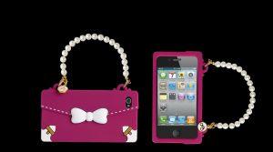 MAIWORLD - OBLIGE RIBBON iPHONE4(FUCHSIA)