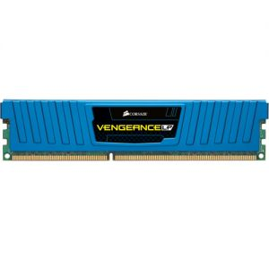 CORSAIR - DDR3 1600MHZ 32G 4X240 UNBUFFERED 10-10-10-27 WITH VENGEANCE BLUE LOW PROFILE HEAT SPREADER - CORE I7 CORE I5AND CORE 2 1.5