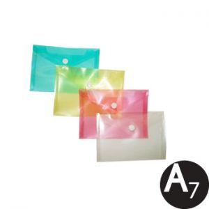 SMARTD - Envelope Plástico A7 Transparente Sortido 1un (min. 12 un.)