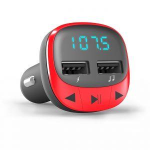 ENERGY SISTEM - Car Transmitter FM Red (microSD:MP3)