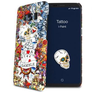 I-PAINT - HARD CASE SAMSUNG GALAXY S8 (TATTOO)