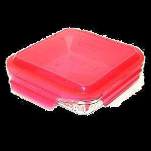 Tefal K3010212 Retangular Caixa 0.5l Vermelho, Transparente 1peça(s)