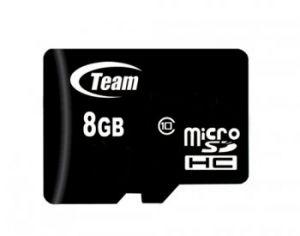 TEAMGROUP - Flash card Micro-SD 8GB C10 1Adp