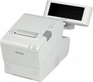EPSON - TM-T88V SERIE+USB (Preto brilhante) - Térmica com corte 80mm, Fonte de alimentação incluida