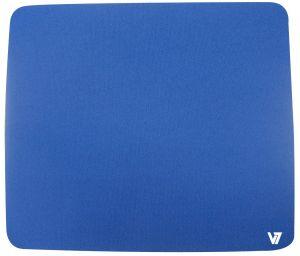 V7 - MOUSE PAD BLUE ACCS RUBBER & TEXTIL 230X200X6MM