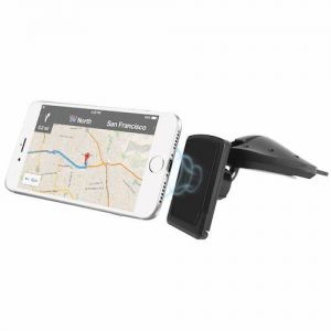 MACALLY - CAR CD SLOT PHONE MAGNETIC MOUNT