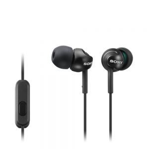 SONY - MDR-EX110APB Preto - Auscultadores de tipo auricular para smartphone