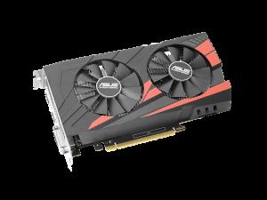 ASUS - EX-GTX1050TI-4G 4GB DDR5 DVI/HDMI/DP