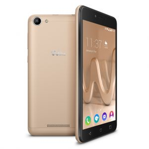 WIKO - SMARTPHONE LENNY3 MAX 5P HD IPS QUAD-CORE 1.3GHZ/16GB/5MP 8MP GIRÓSC./ANDROID 6.0/DUALSIM GOLD - LENNY3 MAX GOLD
