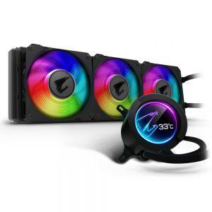 GIGABYTE - Cooler CPU a ?a AORUS 360 Display RGB