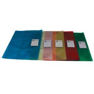 SMART OFFICE - Envelope A4 Pvc Translucido com Visor – Vermelho (min. 10 un.)