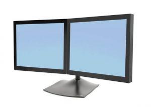 ERGOTRON - DS100 Dual-Monitor Desk Stand, Horizontal