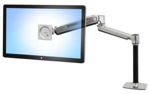 ERGOTRON - LX HD Sit-Stand Desk Mount LCD Arm