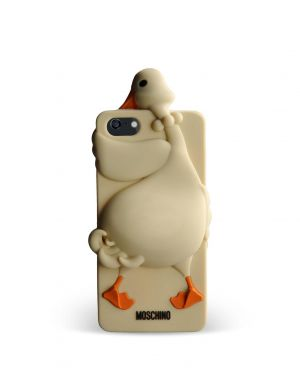 MOSCHINO - GOOSE LUISA IPHONE 5/5S/SE (LIGHT BROWN)
