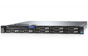 DELL - PowerEdge R430 Servidor montável em bastidor 1U 2-way 1 x Xeon E5-2603V4 / 1.7 GHz RAM 8 GB HDD 1 TB Gravador DVD Matrox G200 GigE sem SO