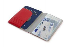 TUCANO - PASSPORT HOLDER (RED)
