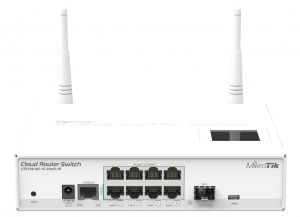 Mikrotik - CRS109-8G-1S-2HnD-IN Switch 8xGB 1xSFP L5