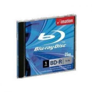 IMATION - DVD BD R SL Blue Ray ( 1 capa ) 1x4x 25GB Jewel case Caixa 5Uni - Gravavel so 1 vez
