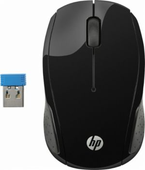 HP - 200 Black Wireless Mouse