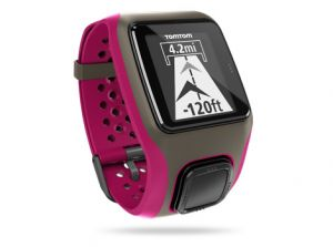TOMTOM - TOMTOM MultiSport Relógio com GPS - Rosa