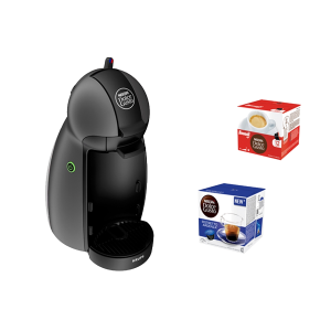 KRUPS - MAQUINA CAFE DOLCE GUSTO PICCOLO ANTRACITE PACK