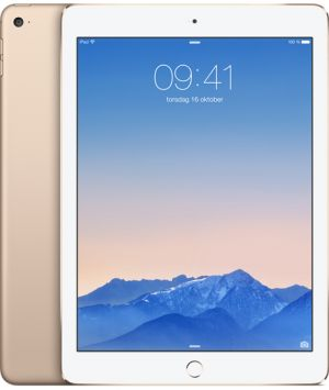 APPLE - iPad Air 2 Wi-Fi + Cellular 32GB - Gold