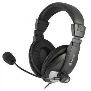 NGS - Microphone - Jack 3.5mm Quilted Earcup - Preto