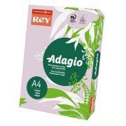 ADAGIO - Papel Fotocopia Adagio A4 80gr Malva (Lilas Intenso) 1x500Fls