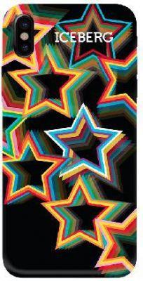 ICEBERG - SOFT CASE IPHONE X (STARS)