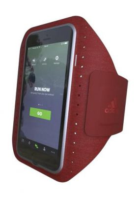 ADIDAS - SPORT ARMBAND IPHONE 7 (COLLEGIATE BURGUNDY)