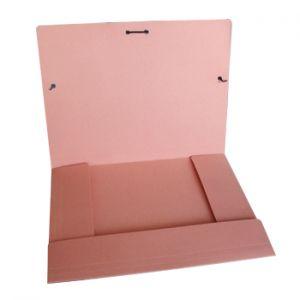 CARTONEX - Pasta Cartolina 350gr 310x230 Abas / Elast Salmao (min. 5 un.)