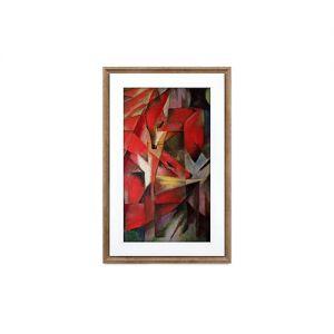 MEURAL - The Canvas II 21 - Moldura Digital 21 pol Moldura Estilo Winslow Madeira