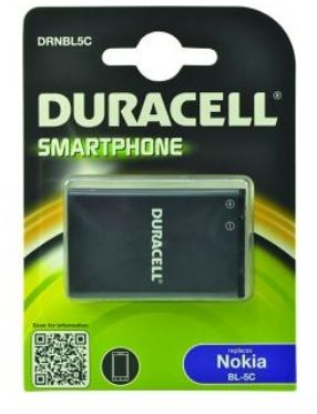 DURACELL - Replacement Nokia BL-5C smartphone battery