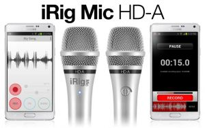 IK MULTIMEDIA - MICROFONE IRIG MIC HD-A
