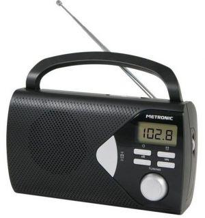 METRONIC - RADIO PORTATIL 477205 PRETO