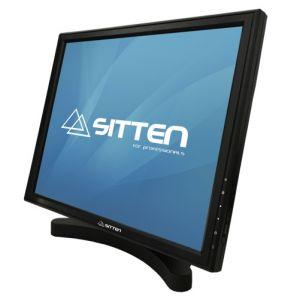 SITTEN - TM1701F - Monitor TFT 17P Touch: USB. Base metálica de elevada estabilidade. 5-Wire resistive Touchscreen. 1280x1024.
