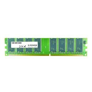 2-POWER - 1GB 400MHz DDR Non-ECC CL3 Dimm 2Rx8