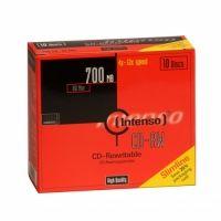 INTENSO - CD-R 700Mb 12X Slim 10 Pack. - 2801622