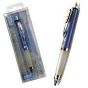 UNI - Marcador UNI UMN207 SIGNO 0:70mm Azul - 1un (RETRACTIL COM PEGA ANTI-DERRAPANTE) (min. 12 un.)
