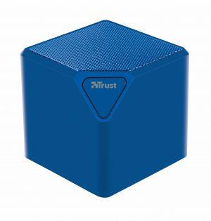 TRUST - URBAN REVOLT Coluna S/ Fios CUBE. Bluetooth. Red