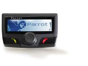 PARROT - CK 3100 - LCD Bluetooth Hands Free Car Kit - sistema viva-voz Bluetooth com tela LCD. O PARROT CK3100 LCD apresenta as informações sobre o seu telefone na tela LCD: número da chamada recebida: agenda de contatos: registo de chamadas