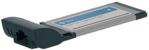 HITEC - Placa ExpressCard 34mm Giga Lan