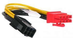 AKASA - Cabo adaptador PCI-E 06P - PCI-E V2.0 08P