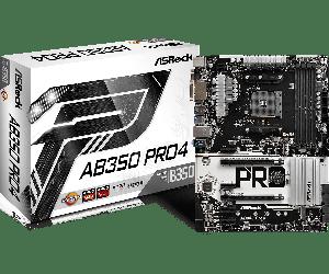 ASROCK - AB350 PRO4 AMD AM4 B350