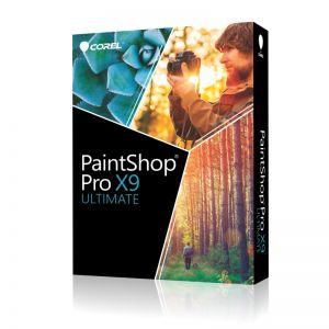 COREL - PaintShop Pro X9 Ultimate Pacote de caixa 1 utilizador ( mini-box ) Win Multi-Lingual