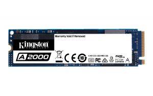 KINGSTON - SSDNow 250G A2000 M.2 2280 NVMe
