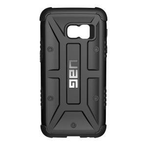 UAG - Samsung Galaxy S7 Composite Case-Black/Black - GLXS7-BLK